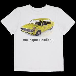 Мужская футболка с фотографией на заказ